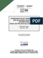 Harmonisation Et Normalisation