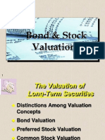 Bonds and Stock Valuation