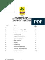 E1 Revision Summaries