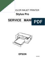 Epson Stylus Pro Service Manual