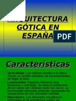 Arquitectura gÓtica en EspaÑa