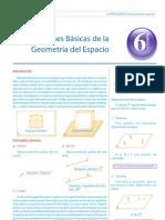 Guía 6 - Nociones Básicas de Geometría del Espacio