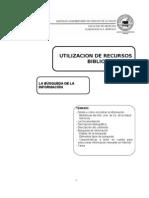 APUNTE CURSO - Utilizacion de Bibliotecas