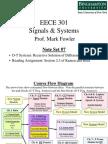 EECE 301 Note Set 7 DT System Recursion