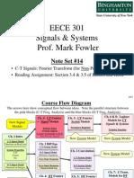 EECE 301 Note Set 14 Fourier Transform