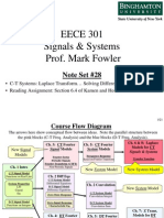 EECE 301 Note Set 28 CT Use LT to Solve DiffEq