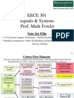 EECE 301 Note Set 28a CT Partial Fractions