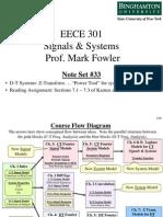 EECE 301 Note Set 33 DT Z Transform