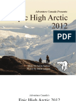 Epic High Arctic Adventure Log