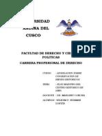 PLAN ESTRATEGICO PARA LA RECUPERACIÓN DEL CENTRO HISTÓRICO DE LIMA 2006