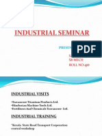 Industrial Seminar