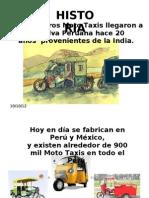 Moto Taxis en El Ambito Rural