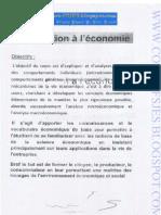 Introduction Economie S1 Www.cours-fsjes.blogspot.com