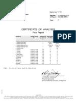 Report CA14438-SEP12 Expt