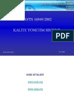 ISO 16949 - Sunum