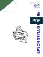 Epson SC-820, SC-IIs (Em Portugues) Service  Manual