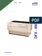 Epson DFX-8500 (Em Portugues) Service Manual