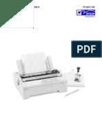 Epson FX-880, FX-1180 (Em Portugues) Service Manual
