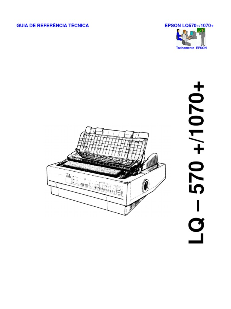 Epson LQ-570+, LQ-1070+ (Em Portugues) Service Manual
