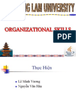 Orgarizational Skills