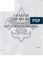 Charter and Bylaws of the Boy Scouts of America #57 491