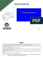 Epson SC-480 Service Manual