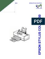 Epson SC-500 (Em Portugues) Service Manual