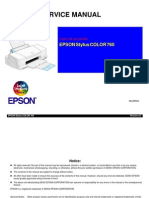 Epson SC-760 Service Manual