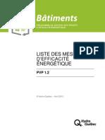 Énercible -PVP-liste-mesures
