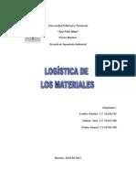 LOGÍSTICA DE  MATERIALES