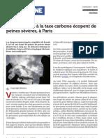 Www.latribune.fr Des Fraudeurs a La Taxe Carbone Ecopent de Peines Severes a Paris