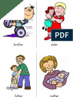 Flashcards FAMILY