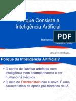 00 Em que Consiste a Inteligência Artificial