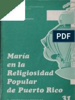 Celam - Maria en La Religiosidad Popular de Puerto Rico