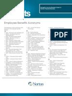 Employee Benefits Acronyms