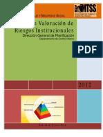 Informe de Valoración de Riesgos Institucionales