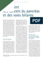 Traitement Des Cancers Du Pancréas Et Des Voies Biliaires