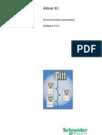 Atv61 Communication Parameters User Manual