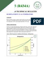 R434a_Datos Tecnicos