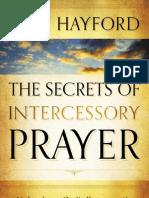 The Secrets of Intercessory Prayer