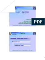Modulo ISO 22000 - 2012 (Carlos Moya)