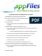 6b.) AppFiles2012 - Scanning Documents and Adding Them to an AppFile