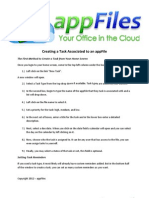 8.) AppFiles2012 - Creating a Task