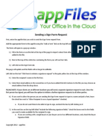 12.) AppFiles2012 - Sending a Sign Form Request