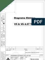 Diagrama Volare V5 e V6 4.07 TCE
