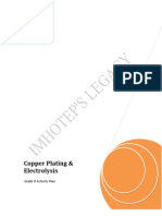 8.6 Copper Plating and Electrolysis