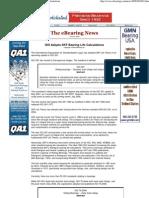 eBearing News - IsO Adopts SKF Bearing Life Calculations