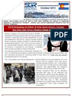COESGR Newsletter October 2012(PII)