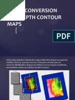 Depth Conversion and Depth Contour Maps