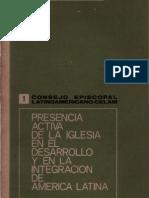 Celam - Presencia Aciva de La Iglesia en America Latina